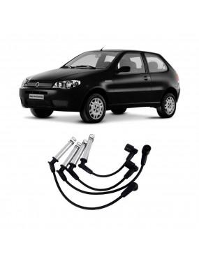 Jogo Cabo Vela Ignição Fiat Idea 1.4 2006 a 2016 Ngk