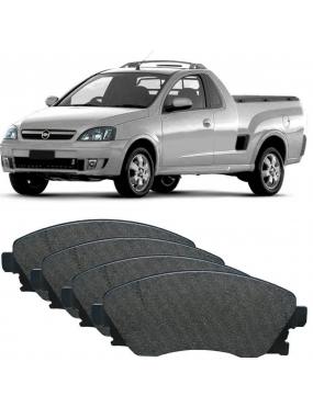 Jogo Pastilha de Freio Dianteira Sistema Varga Chevrolet Corsa | Corsa Sedan | Montana