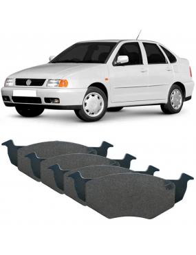 Jogo Pastilha Freio Dianteiro Volkswagen Fox 2004 a 2014 Bosch SYL Aro 13