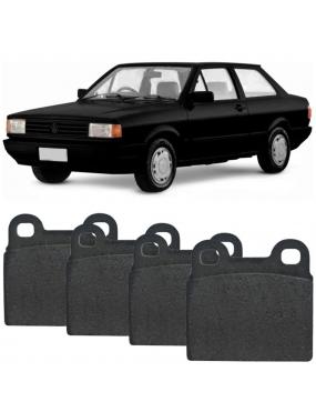 Kit Pastilha Freio Dianteira Gurgel BR800 0.8 1988 a 1993 Volkswagen Gol 1984 a 1993 Teves Cobreq