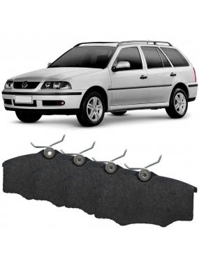 Jogo Pastilha Freio Dianteira Volkswagen Parati 97 a 2005 Varga Cobreq