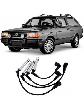 Jogo Cabo Vela Ignição Ford Escort 2.0 1992 Volkswagen Gol 1987 a 1993 Ngk
