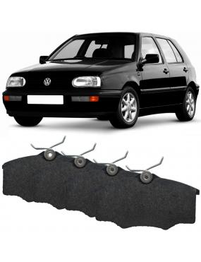 Kit Pastilha Freio Dianteira Seat Cordoba 1993 a 2000 Volkswagen Golf G1 1994 a 1999 Girling Cobreq