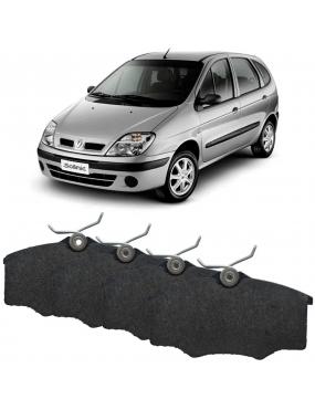Kit Pastilha Freio Dianteira Renault Laguna 1994 a 2003 Megane 1996 a 2013 Girling Syl