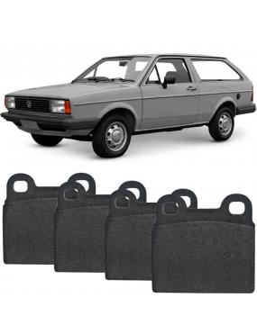 Kit Pastilha Freio Dianteira Gurgel BR800 0.8 1988 a 1993 Volkswagen Gol 1984 a 1993 Teves Syl