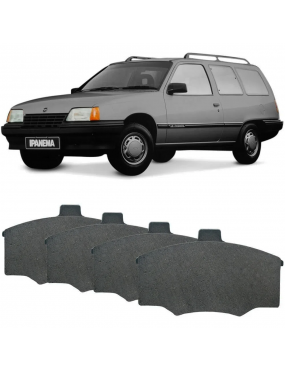 Kit Pastilha Freio Ford Pampa 85 a 97 Chevrolet Monza 85 a 97 Ford Del Rey 85 a 91 Belina 85 a 86 Chevrolet Kadett 89 a 96 Ipanema 90 a 96 Dianteira Varga Syl