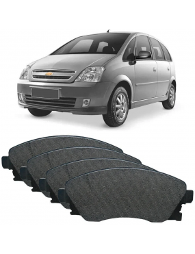Jogo Pastilha Freio Dianteira Chevrolet Zafira 2002 a 2010 Teves Syl