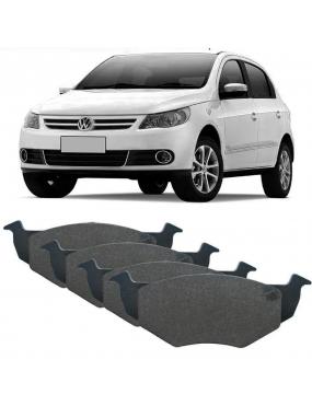 Jogo Pastilha Freio Dianteira Volkswagen Saveiro 2007 a 2018 Bosch Cobreq