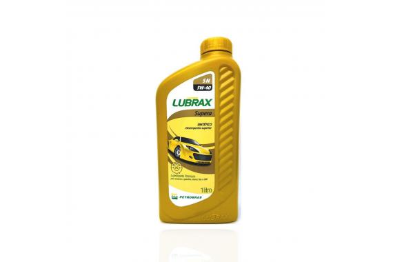 Óleo do Motor 5w40 SN Sintético Supero 1 litro - Lubrax