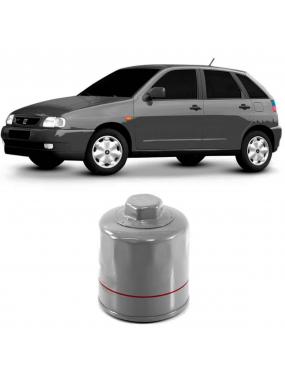 Filtro Óleo Seat Cordoba 1993 a 2002 Volkswagen Crossfox 1.6 8v 2005 a 2018 Vox