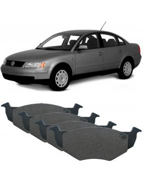 Kit Pastilha Freio Dianteira Audi A4 2000 a 2017 Volkswagen Passat 2000 a 2015 Teves Cobreq