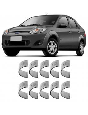 Bronzina Casquilho Mancal 1,00 Ford KA Ecosport 97 a 2015 Metal Leve