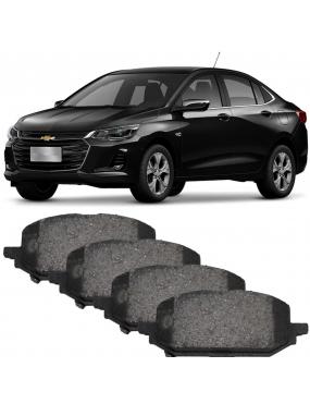 Kit Pastilha Freio Dianteira Chevrolet Onix 1.0 2020 em diante Trw Cobreq