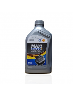 Óleo do Motor 5w40 SN Sintético Maxi Performance Aditivado 1 litro - Volkswagen