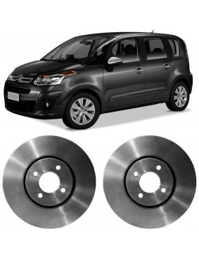Par Disco Freio Dianteiro Ventilado Peugeot 2008 1.6 2015 a 2017 Fremax