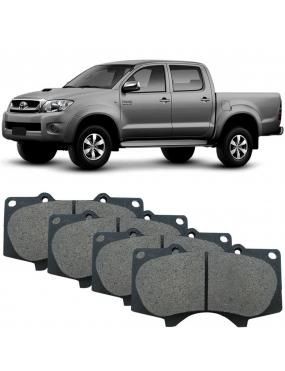 Kit Pastilha Freio Dianteira Toyota Hilux 2.5 2009 a 2015 Advics Ecopads