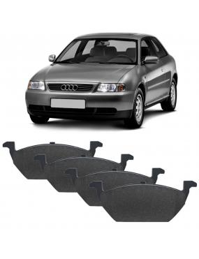 Kit Pastilha Freio Dianteira Audi A3 2002 a 2007 Volkswagen Crossfox 1.6 8v 2005 a 2007 Teves Ecopads