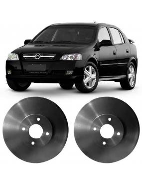 Par Disco Freio Dianteiro Ventilado Astra 2005 a 2011 Fremax Aro 15