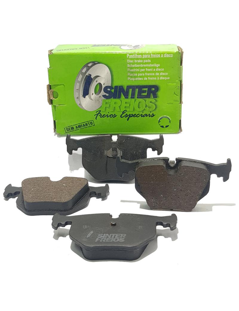 Jogo Pastilha de Freio Traseira Sistema Teves BMW 540i | 750 | 840 | 850