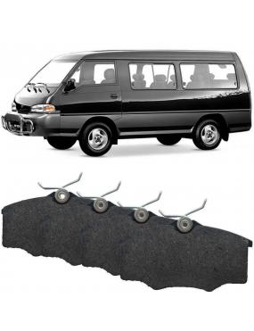 Kit Pastilha Freio Dianteira Hyundai H100 1994 a 2004 Sumitomo Cobreq