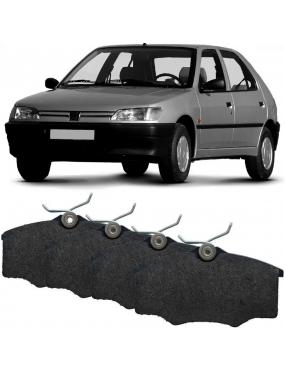 Kit Pastilha Freio Dianteira Citroen Berlingo 1996 a 2000 Peugeot 306 1996 a 2000 Girling Cobreq