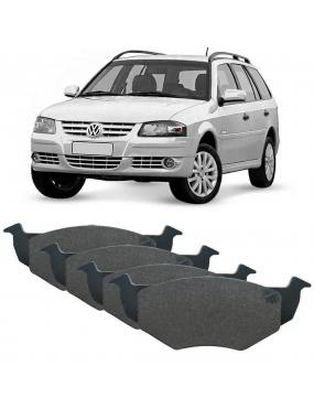 Jogo Pastilha Freio Dianteira Volkswagen Parati 2009 a 2011 Bosch FSII Cobreq