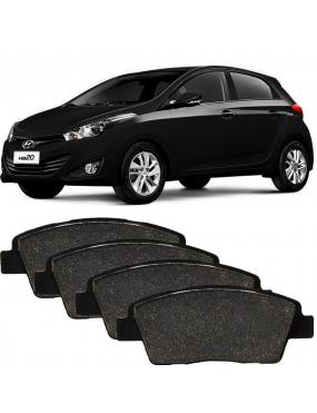 Kit Pastilha Freio Dianteira Hyundai Hb20 2013 a 2018 Mando Syl