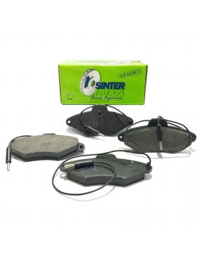 Jogo Pastilha de Freio Dianteira Sistema Bendix Citroen Xantia