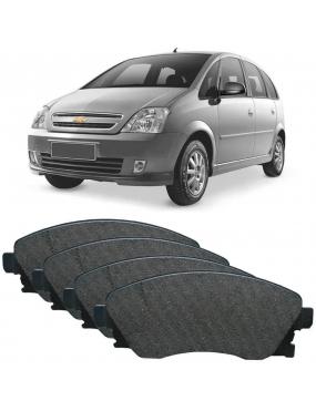 Jogo Pastilha Freio Dianteira Chevrolet Zafira 2002 a 2010 Teves Ecopads