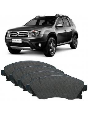 Kit Pastilha Freio Dianteira Renault Duster 1.6 2012 a 2021 Captur 1.6 2017 a 2020 TRW Ecopads