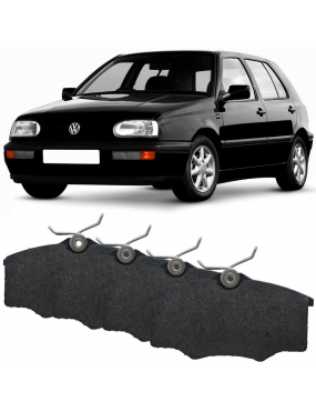 Kit Pastilha Freio Dianteira Seat Cordoba 1993 a 2000 Volkswagen Golf G1 1994 a 1999 Girling Ecopads