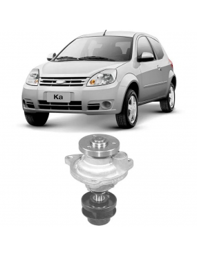 Bomba de Água Ford Ka 99 a 2013 Ford Fiesta 99 a 2014 Ford Focus 2003 a 2010 Ford Ecosport 2003 a 2006 Ford Courier 2000 a 2013
