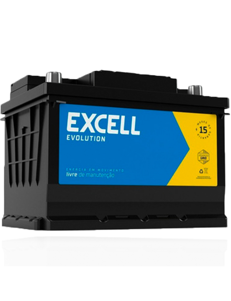 Bateria Excell Evolution Free 40 amperes
