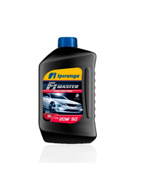 Óleo do Motor 20w50 SL Mineral F1 Master Protection 1 Litro - Ipiranga