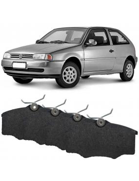 Jogo Pastilha Freio Dianteira Volkswagen Saveiro 95 a 2018 Varga Ecopads