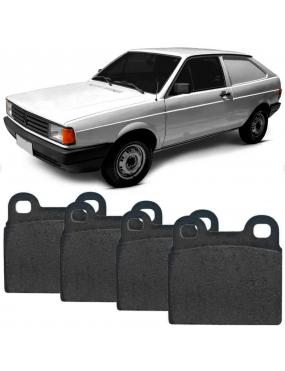 Kit Pastilha Freio Dianteira Gurgel BR800 0.8 1988 a 1993 Volkswagen Gol 1984 a 1993 Teves Fras-le