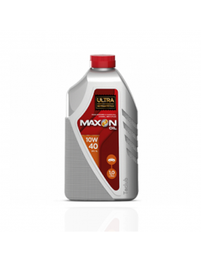 Óleo do Motor 10w40 SM SL Ultra Semi Sintético 1 Litro - Maxon Oil