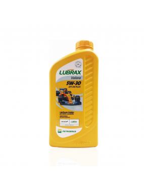 Óleo do Motor 5w30 SN Sintético Valora Plus 1 litro - Lubrax