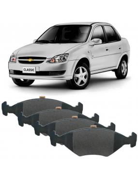 Jogo Pastilha Freio Dianteira Chevrolet Agile 2010 a 2014 Teves Cobreq