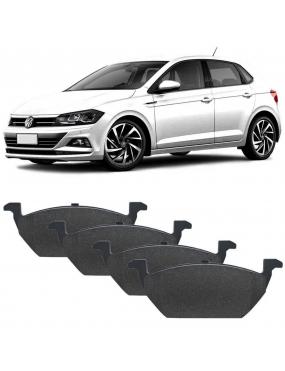 Kit Pastilha Freio Dianteira Volkswagen Polo 2018 a 2019 Virtus 2018 a 2019 Teves Syl