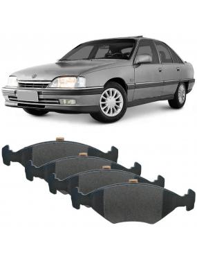 Kit Pastilha Freio Dianteira Daewoo Espero 1994 a 1997 Chevrolet Astra 2.0 8v 1994 a 1996 Teves Ecopads
