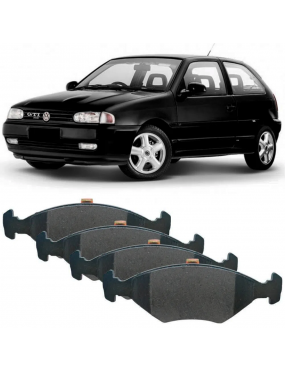 Kit Pastilha Freio Dianteira Ford Royale 1994 a 1996 Volkswagen Gol 2.0 1994 a 1996 Teves Ecopads