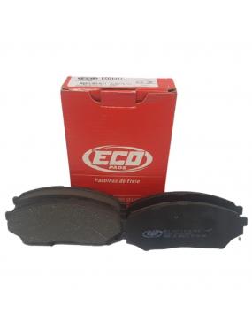 Kit Pastilha Freio Dianteira Mitsubishi Pajero 1999 a 2014 Sumitomo Ecopads